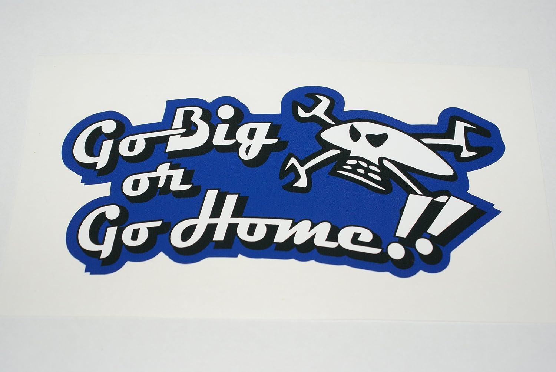 Rapro Graphics Guy Martin 'go Big Or Go Home' Sticker
