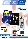 10 Blatt A4 Fotopapier magnetisch Magnetpapier matt