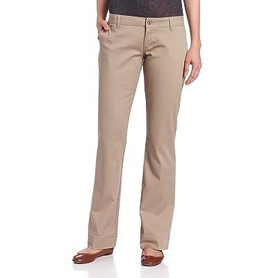 Dickies Girls Juniors' Bull Pant 2 Back Pocket Pant-School Uniform