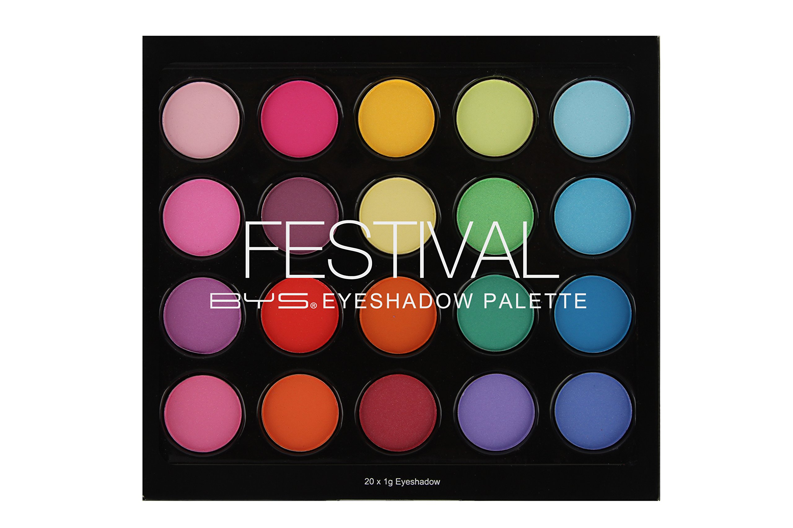 BYS Festival Eyeshadow Palette - 20 Shades by BYS (Image #1)