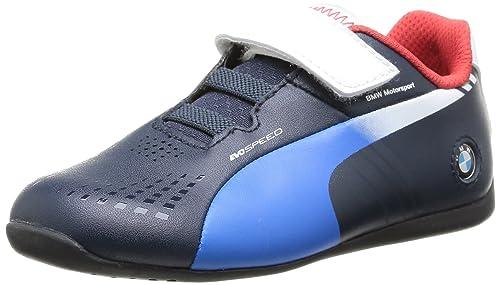 Puma Zapatillas para Bebés, BMW Team French Blue, 22 EU: Amazon.es: Zapatos y complementos