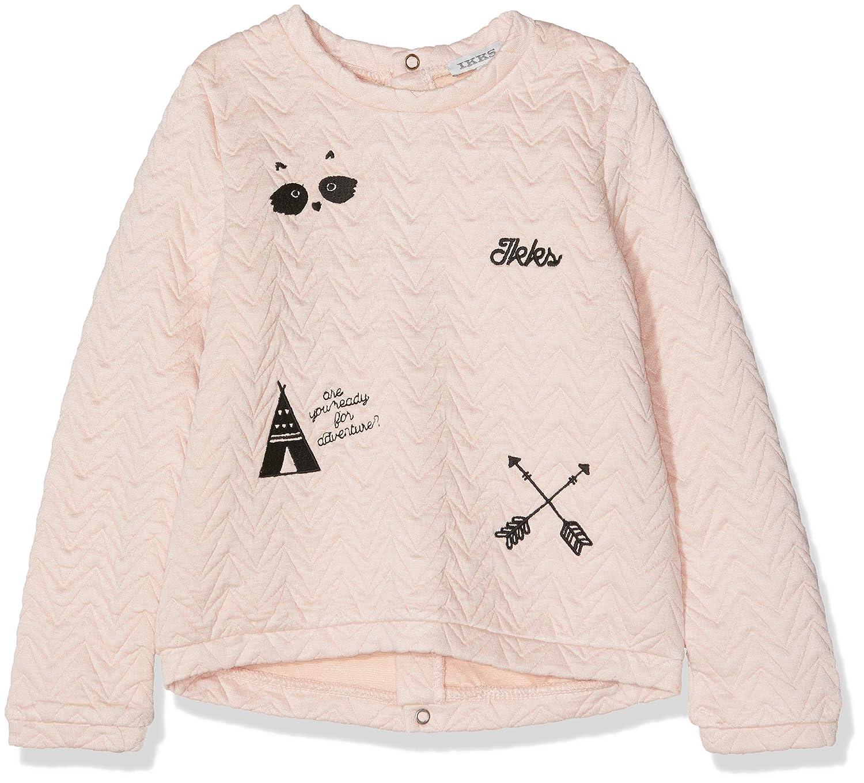 IKKS Sweat Matelasse Shirt Bébé Fille IKKS JUNIOR XM15000