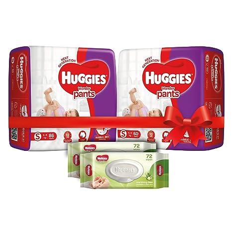 Buy Huggies Wonder Pants Comfort Pack Small Size Diapers (146