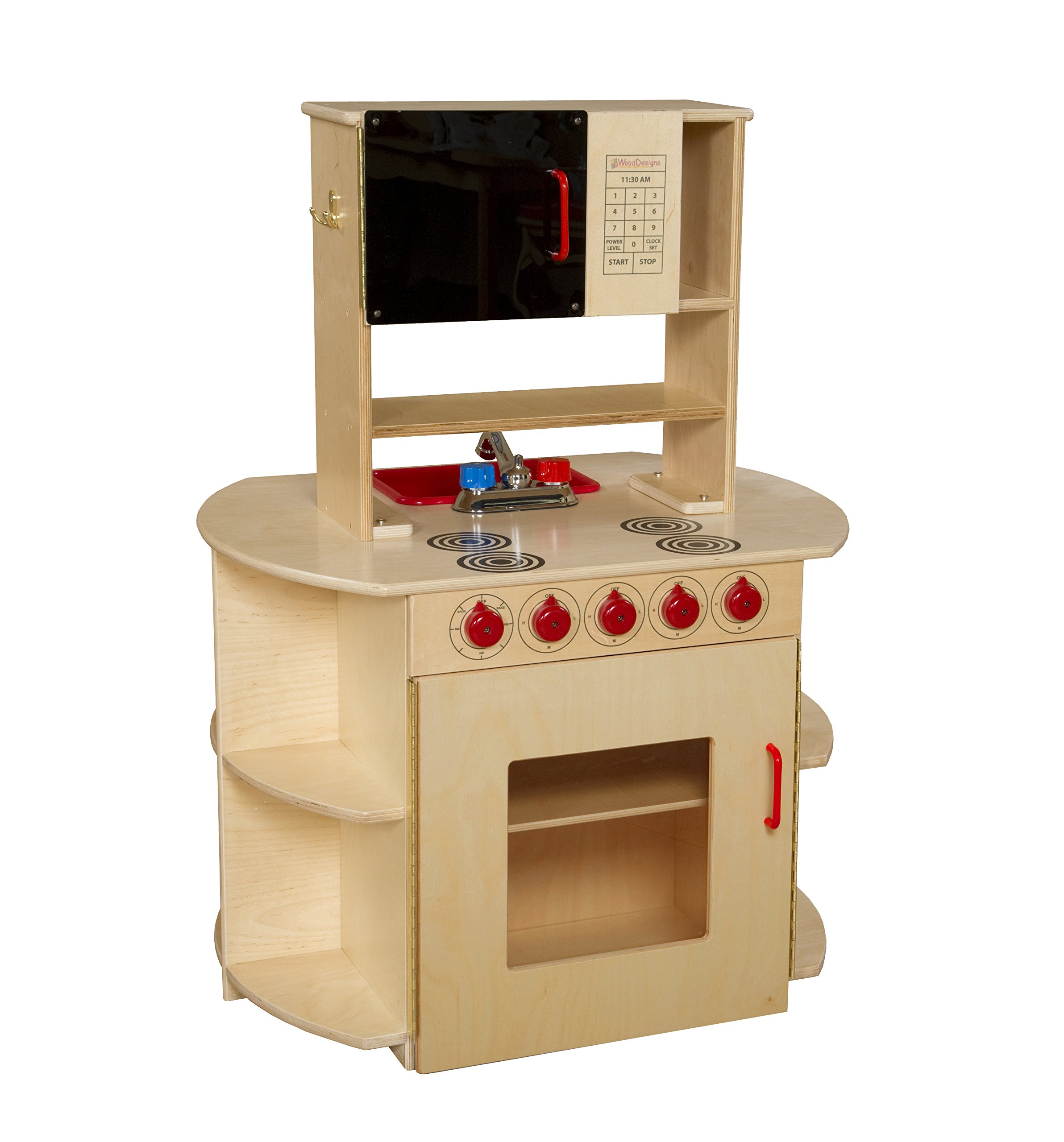 Wood Designs WD10875 All-In-One Kitchen Center