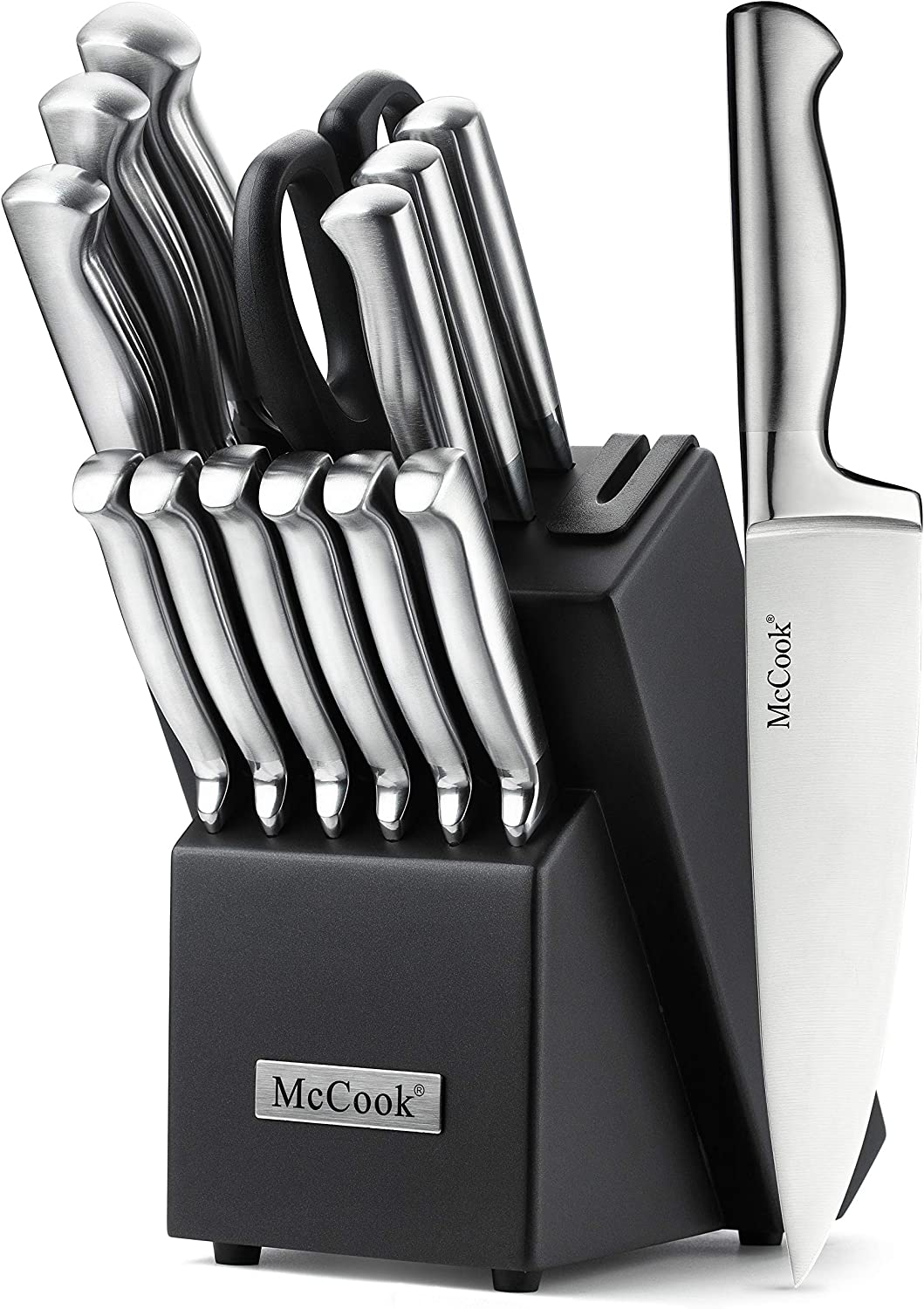 McCook MC21 15 Amazon Knife Block Set