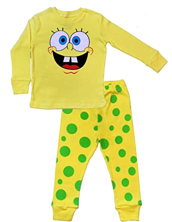 73ea96ef5 Amazon.com  TinaLuLing Boys Spongebob Pajamas - 100% Cotton  Clothing