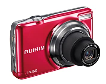 fujifilm jv300 digital camera red 2 7 inch lcd amazon co uk rh amazon co uk