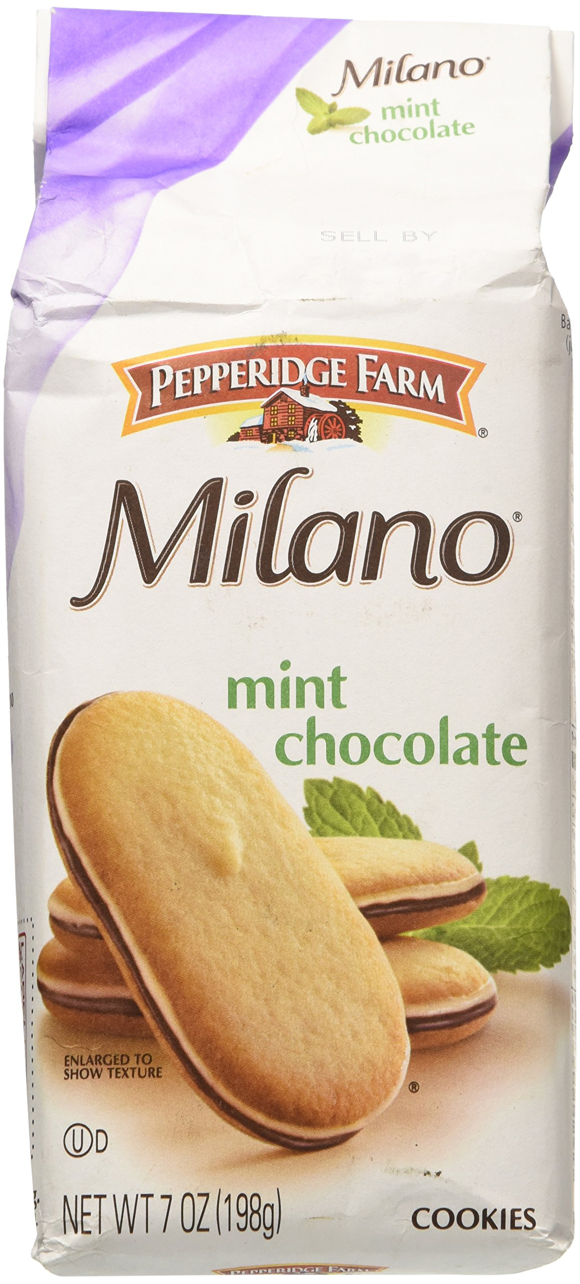 Pepperidge Farm Mint Milano Cookies, 7-ounce bag