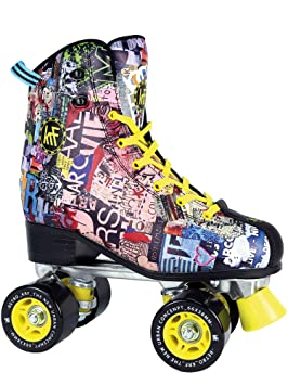 KRF The New Urban Concept Retro Art Patines Paralelo 4 Ruedas, Unisex, 36