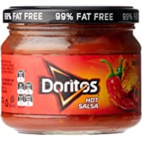 Doritos Hot Salsa Dip, 8 x 300 Grams