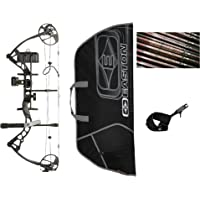 Diamond Infinite Edge Pro Compound Bow, Black, Right Hand, Ready to Hunt Package
