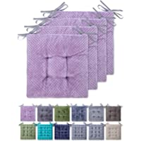 WONDER MIRACLE 4 in 1 Pack Chair Pads | Seat Cushion,Machine Wash & Dryer Friendly (F&F 16