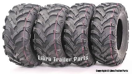 Elegant Set 4 ATV Tires 22x7 11 Front 22x10 9 Rear 6PR For Honda Recon