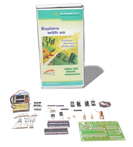 Buy binary to decimal display physics project kit diy do it binary to decimal display physics project kit diy do it yourself manual solutioingenieria Images