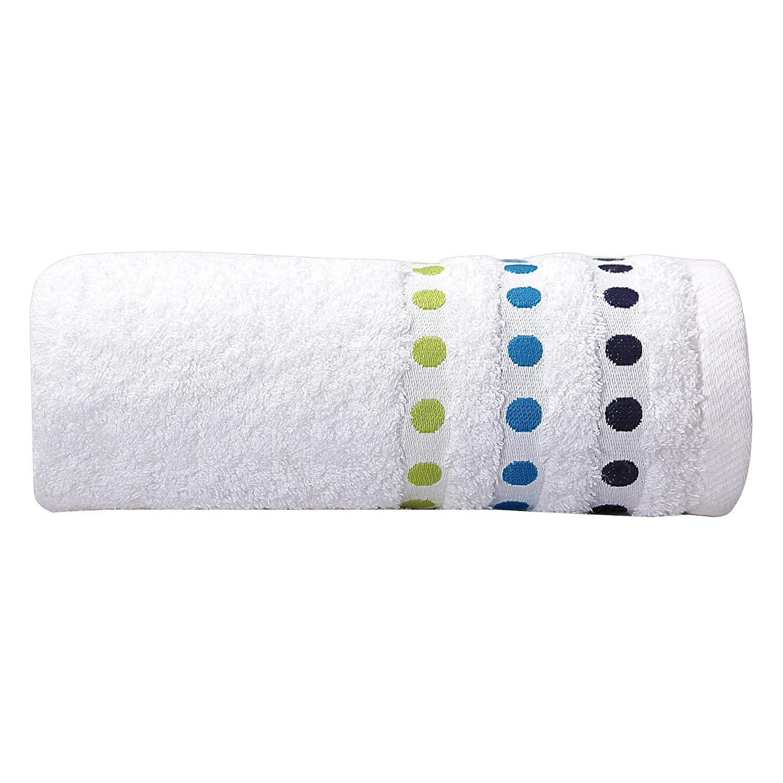 Sorema Colourful - Toalla para lavabo, de algodón, 50 x 100 cm, color azul: Amazon.es: Hogar
