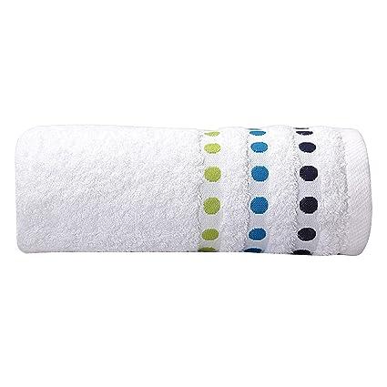Sorema Colourful - Toalla para lavabo, de algodón, 50 x 100 cm, color