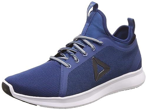 d3dbe21c0852 Reebok Men s Pro Lite Runner Lp Bunker Blue Flat Grey Running Shoes-10 UK