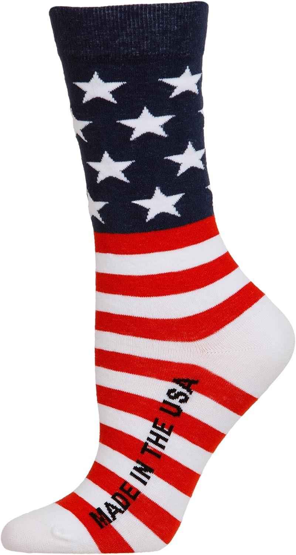 American Flag Dress Socks Made in the USA
