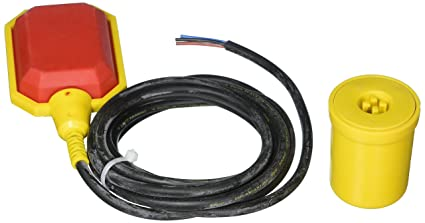 Float Switch w / 10 ft. (3 Meter) Cable, Water Tank, Sump Pump ... on