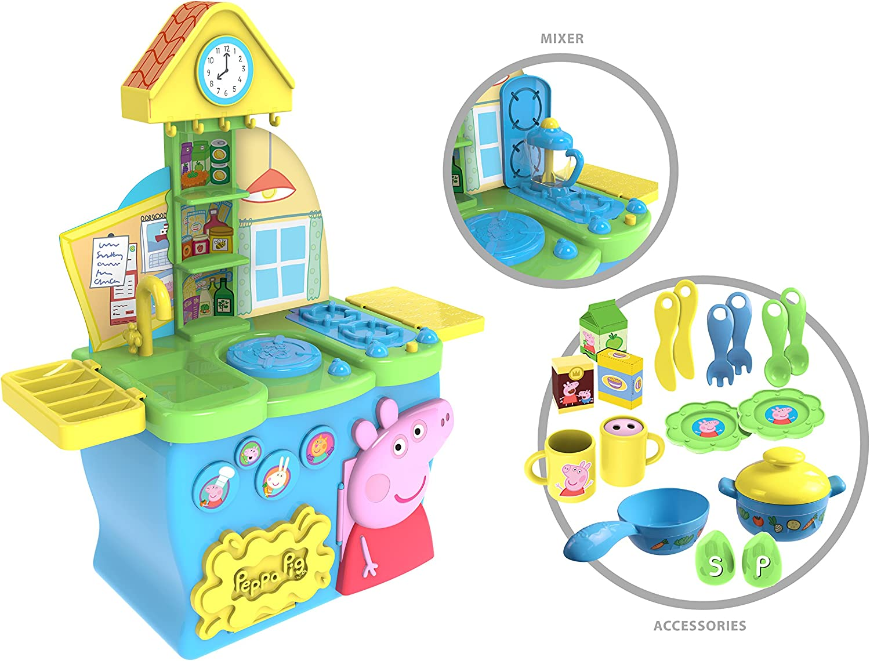 Peppa Pig Peppa Pig Design 17 Toy Kitchen: Amazon.de: Spielzeug