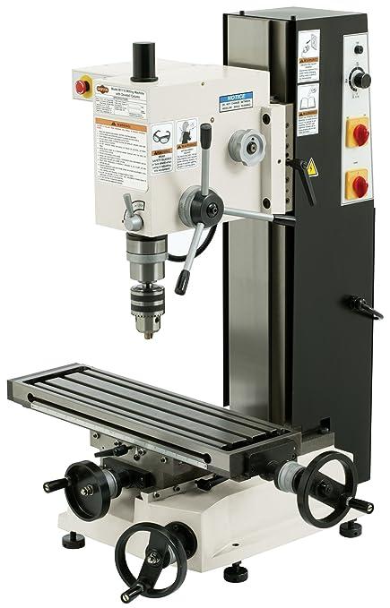 shop fox m1110 6 inch by 21 inch variable speed mill and drill rh amazon com Sieg X3 CNC Conversion Sieg Mill X4
