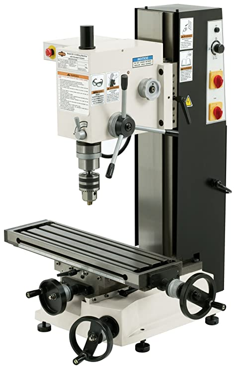 Used Milling Machines Power Tools Tools Home Amazon Com >> Shop Fox M1110 6 Inch By 21 Inch Variable Speed Mill And Drill