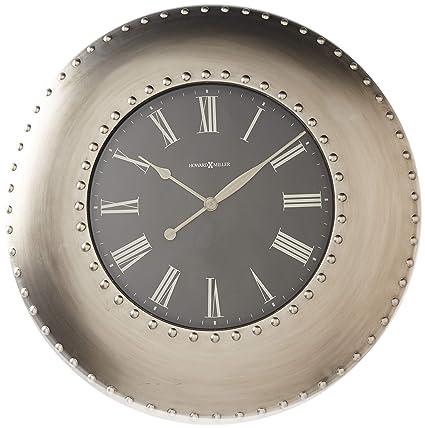 Amazon Com Howard Miller 625 610 Bokaro Wall Clock Home Kitchen