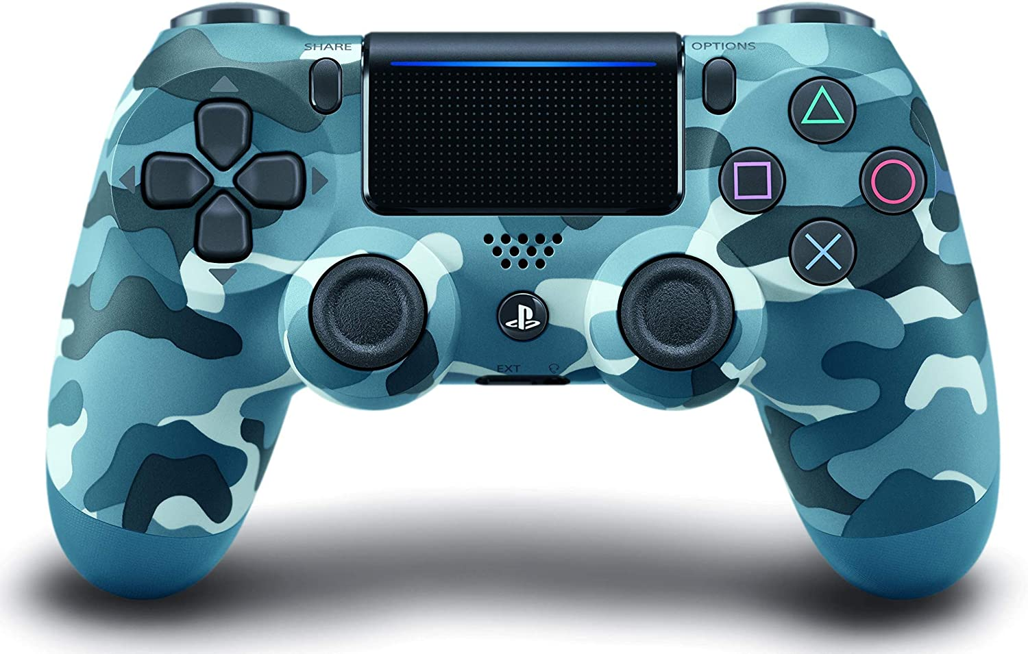 Dualshock 4 Wireless PS4 Controller: Blue Camo for Sony ...