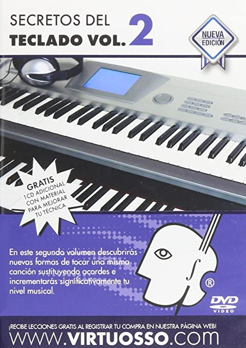 Virtuosso Musical Keyboard Method for Beginners Vol.2 (Curso De Teclados Para Principiantes Vol