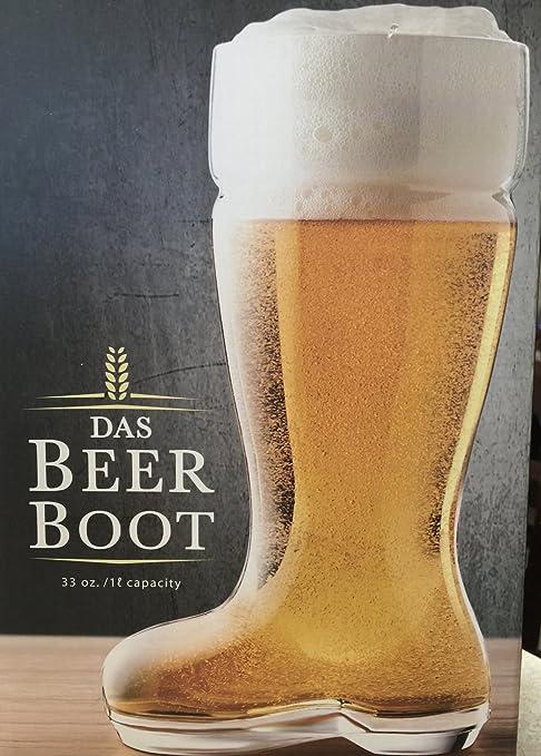 Amazon.com: Final Touch 1 litro das Boot Vaso de cerveza ...