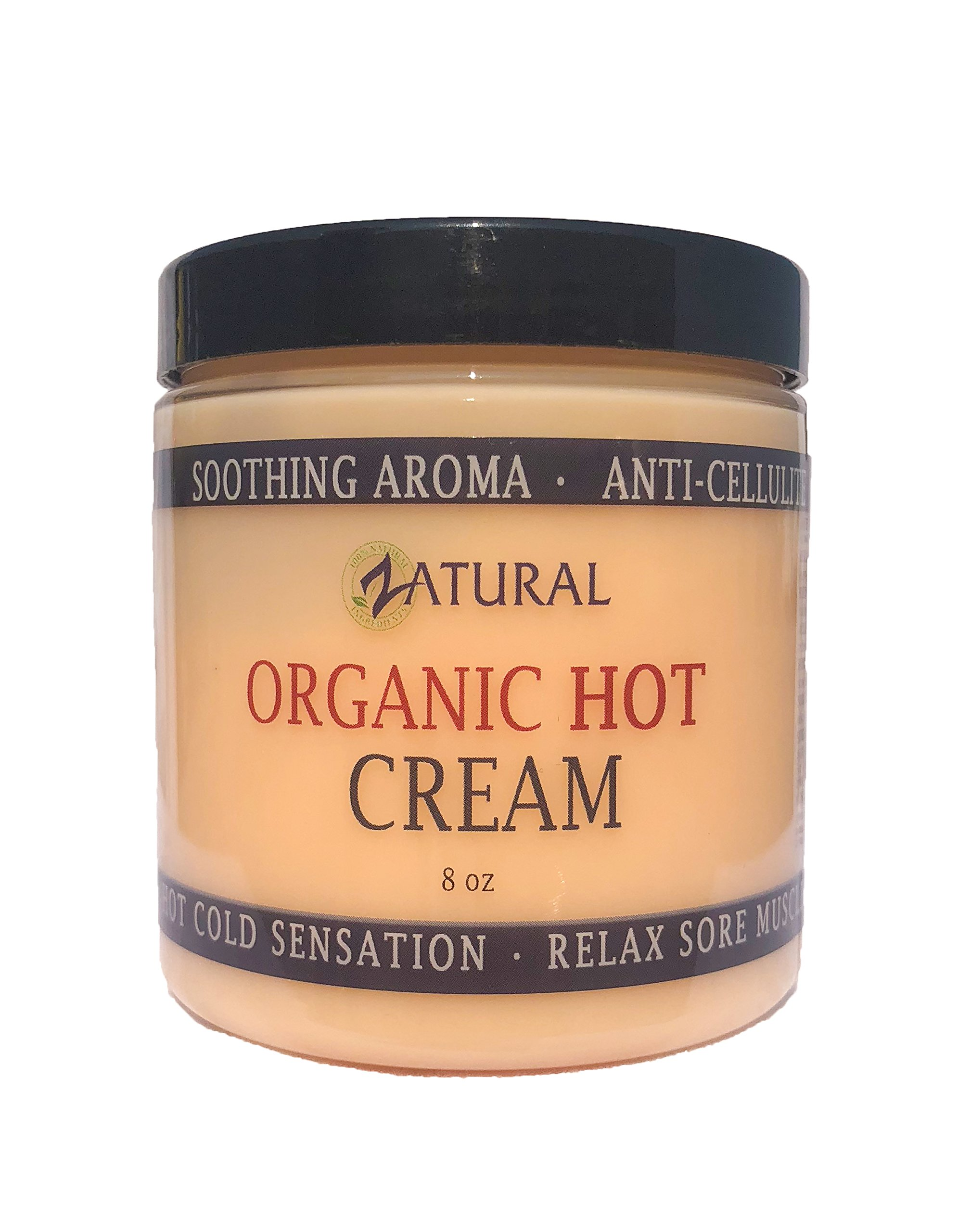 Amazon.com : Organic Hot Cream-Cellulite Cream-Muscle Rub-Slimming Cream-Pain Relief-Body Wraps-Belly Fat-Skin Firming & Weight Loss-Professional ...