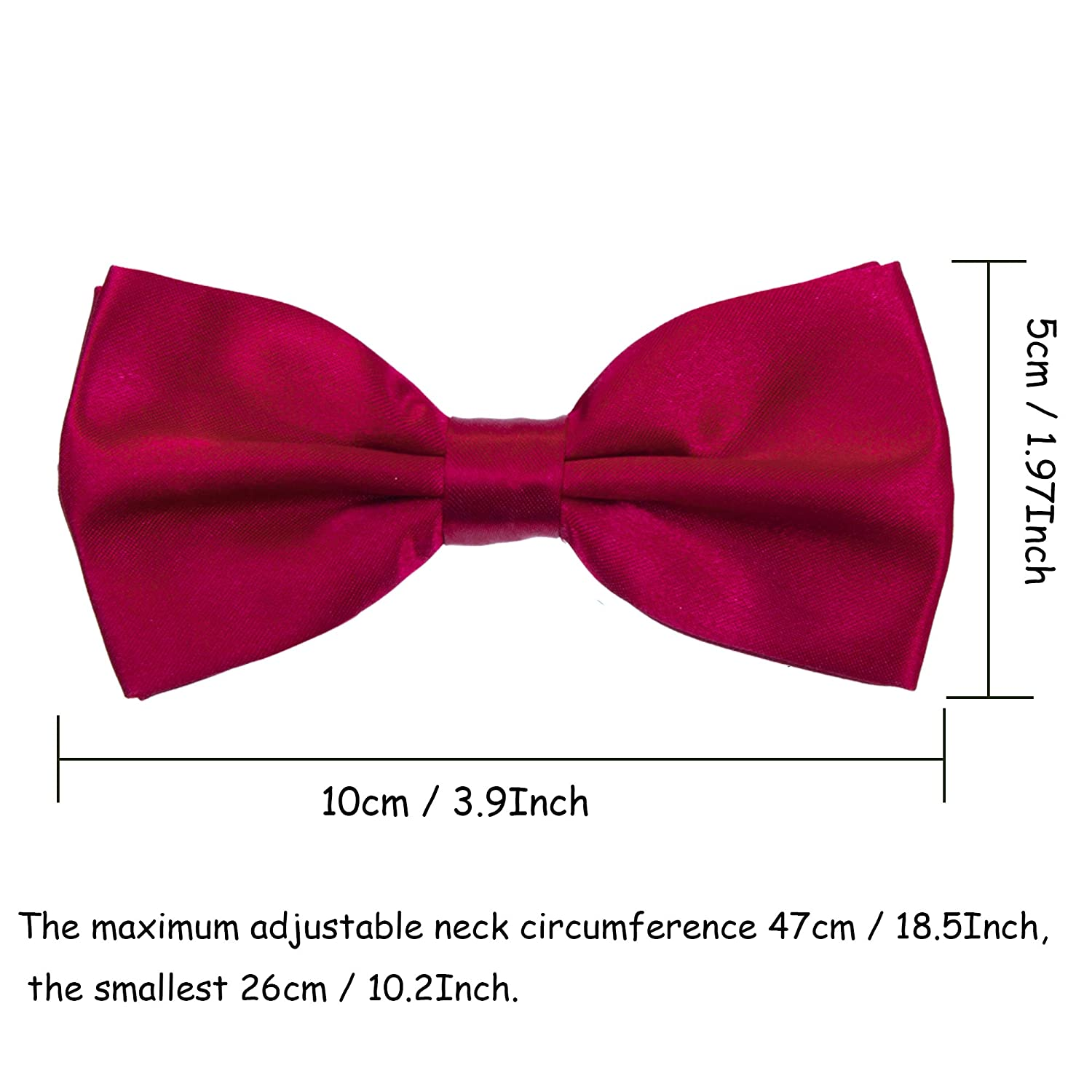 Kids Suspender Bow Tie Sets Navy Blue Adjustable Elastic Classic Accessory Sets for Boys /& Girls