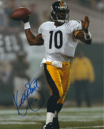 Autographed Kordell Stewart Pittsburgh Steelers 8x10 Photo with COA