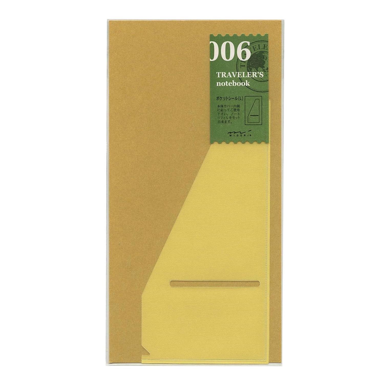 Midori Travelers Notebook Refill 006 Pocket Seal@L