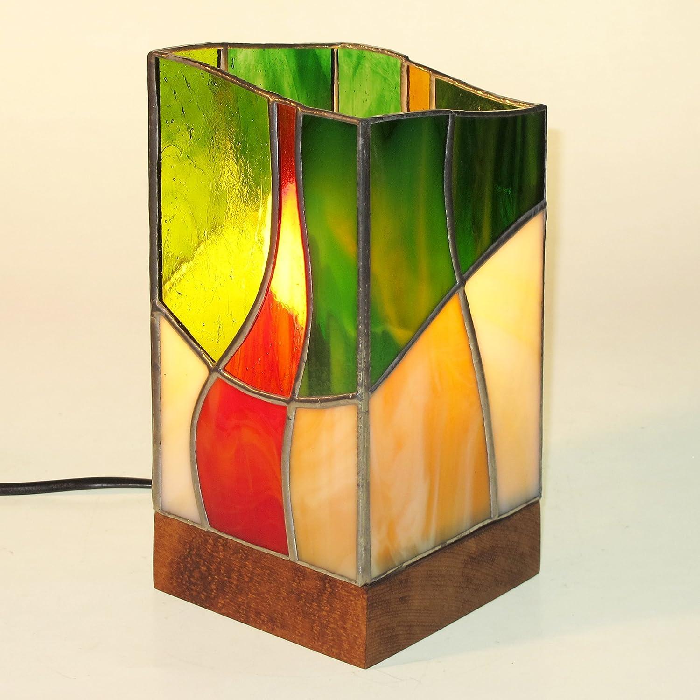 Lampara de vidrio. Prisma 03. 11-11-23cm