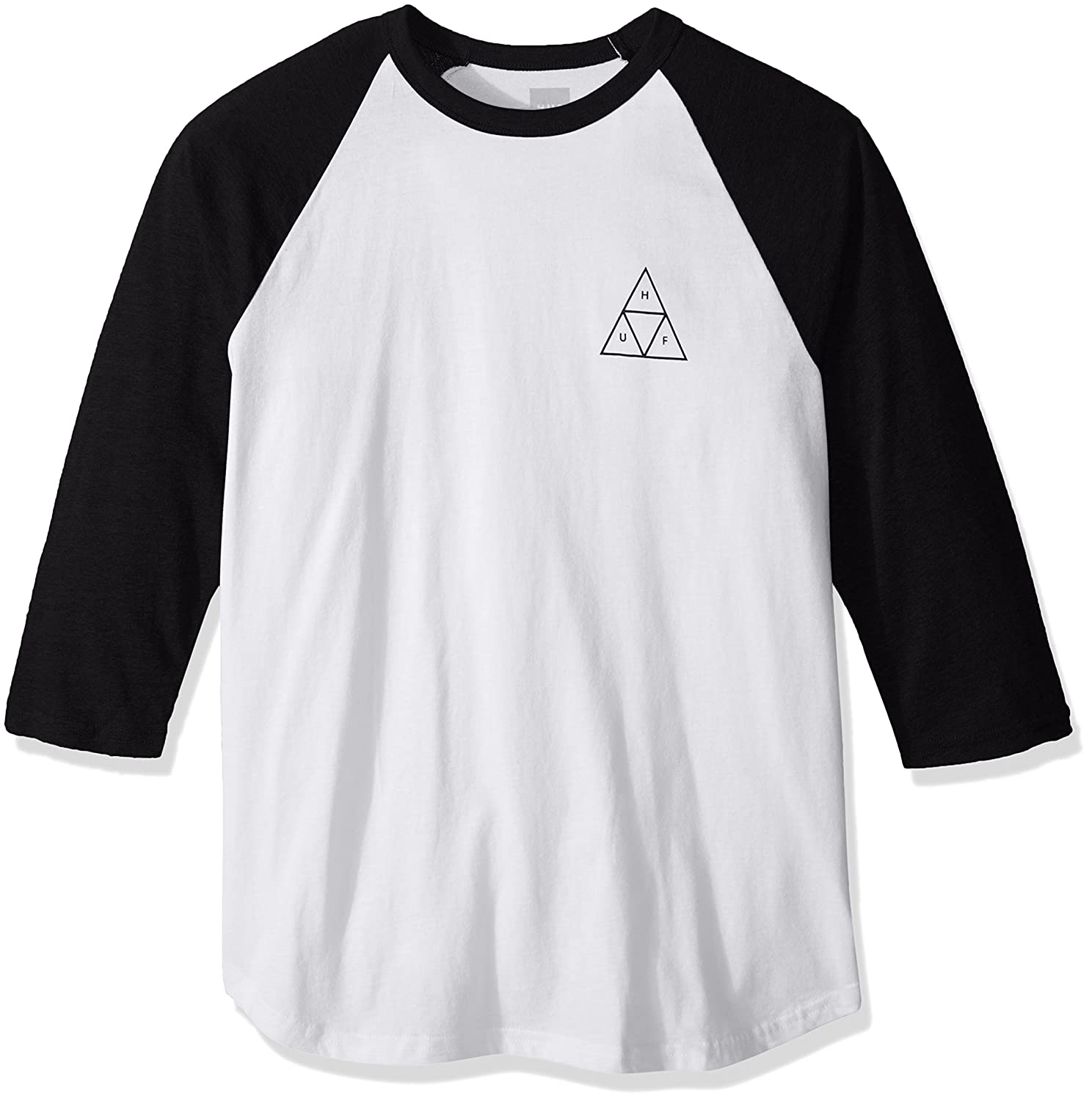 HUF Men's Triple Triangle Raglan Shirt HUF Young Men's Apparel TS00028