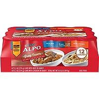 Purina ALPO Gravy Cravers Adult Wet Dog Food Variety Pack - Twelve (12) 13.2 oz. Cans