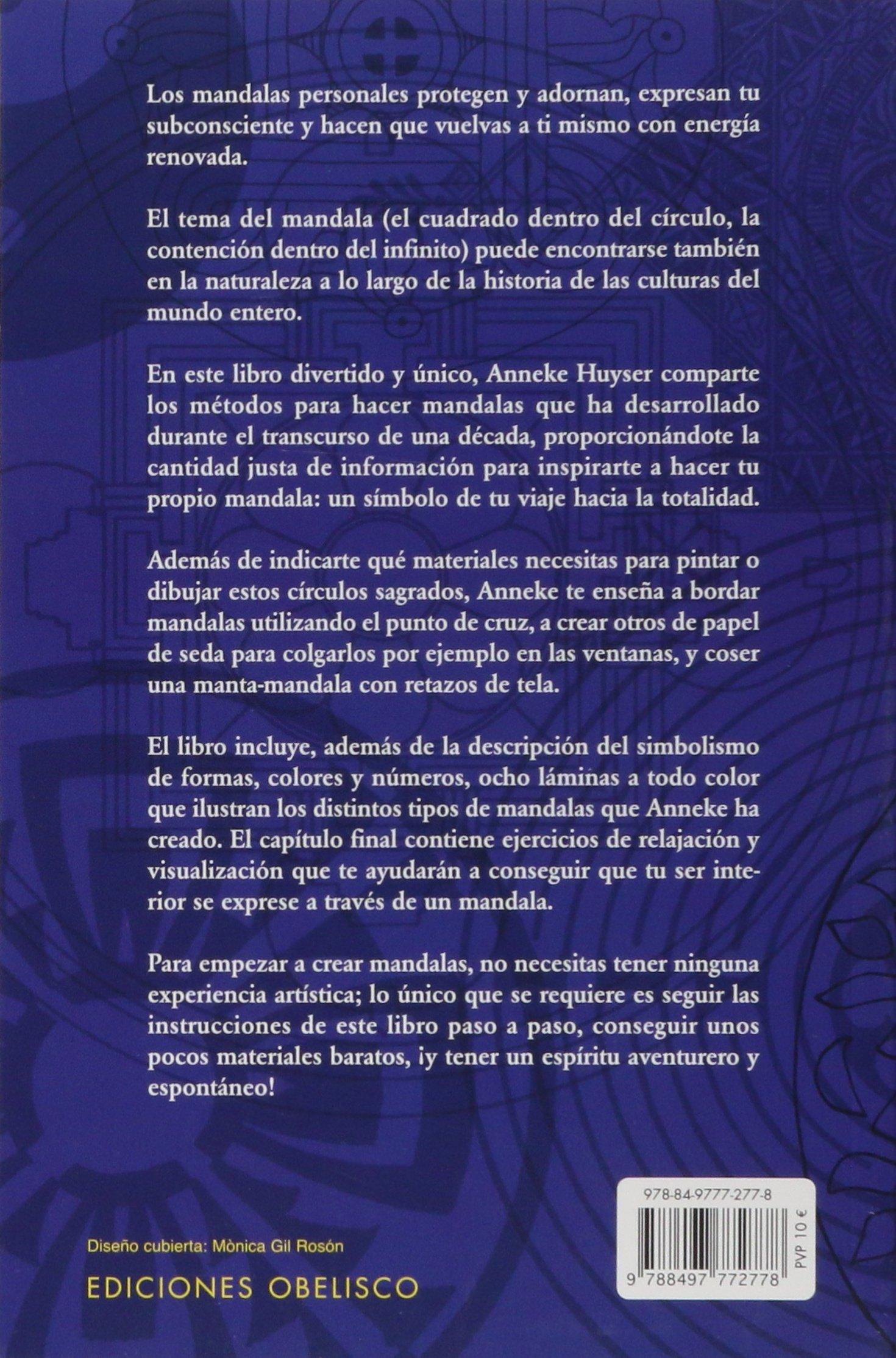 El libro de trabajo de los mandalas NUEVA CONSCIENCIA: Amazon.es ...