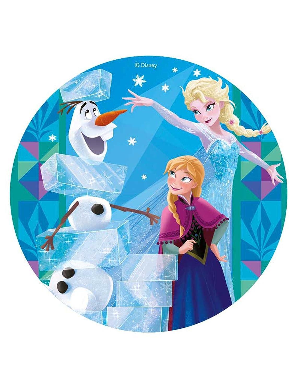 Frozen – oblea para decoración de tartas, 8.0 in: Amazon.com ...