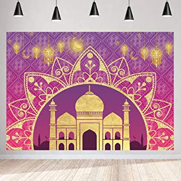 Arabian Nights Moroccan Party Photography Backdrop 7x5ft Magic Genie Theme Party Backdrops Indian Bollywood Party Happy Birthday Background Baby