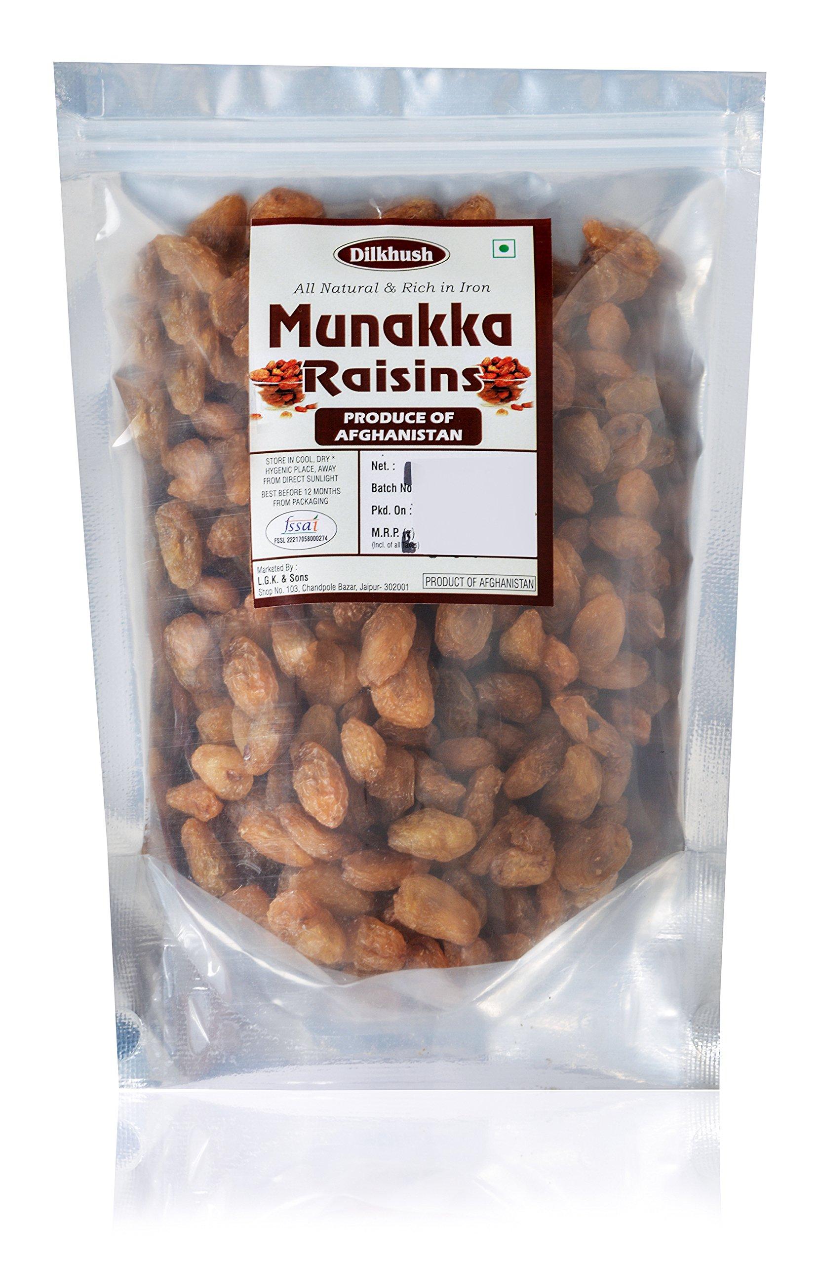 Dilkhush Munakka Raisin, 500 Grams by Dilkhush (Image #1)