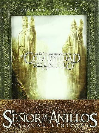 El Señor de los Anillos: La Trilogía Edición limitada DVD: Amazon ...