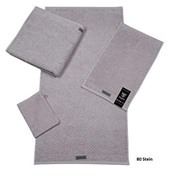 Ross Uni-Pippe Smart - Toalla de mano color piedra, 100 % algodón, gris piedra, toalla de manos 16 x 22 cm: Amazon.es: Hogar