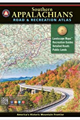 Southern Appalachians Road & Recreation Atlas (Benchmark Recreation Atlases) Paperback