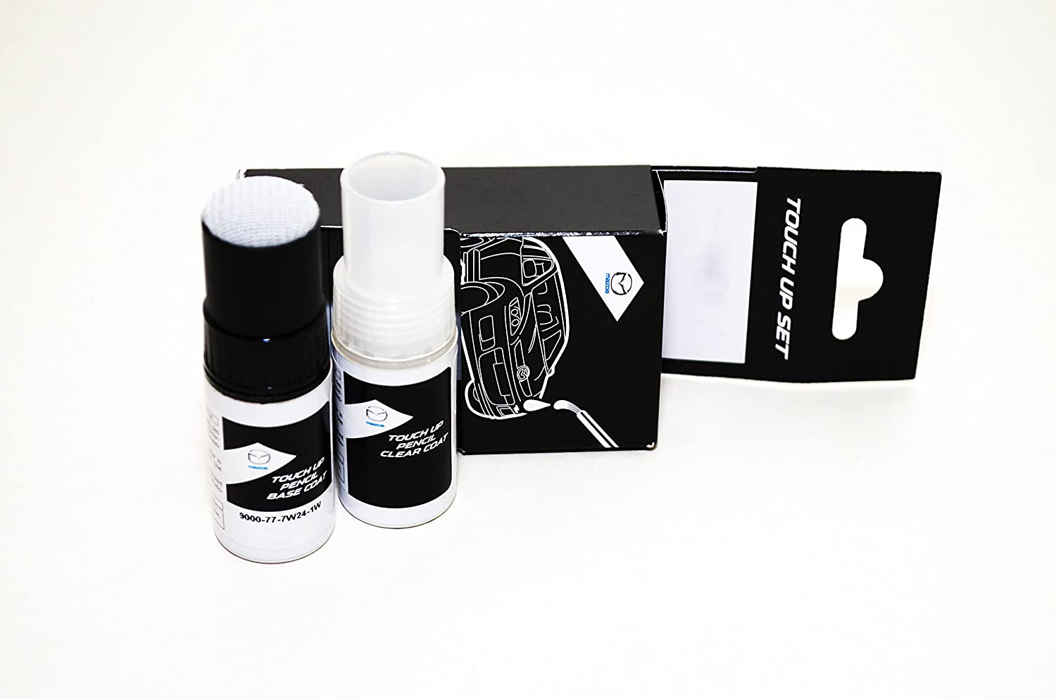 Mazda Genuine Touch-Up Paint Crystal White Mica 34K M9000777W234KS