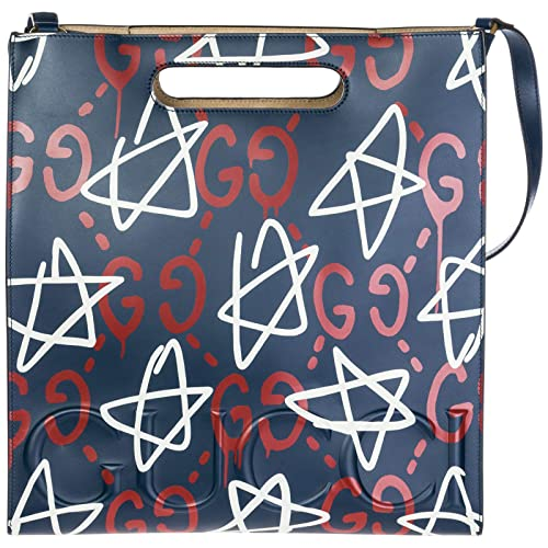 Gucci sac à main homme en cuir ghost blu  Amazon.fr  Chaussures et Sacs 7ba602d28cc