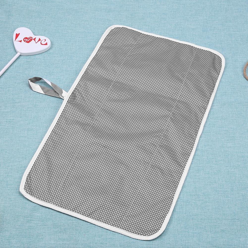 Silveroneuk Portable b/éb/é Tapis /à langer pour changer les couches Tapis /à langer de voyage pour voyage et maison