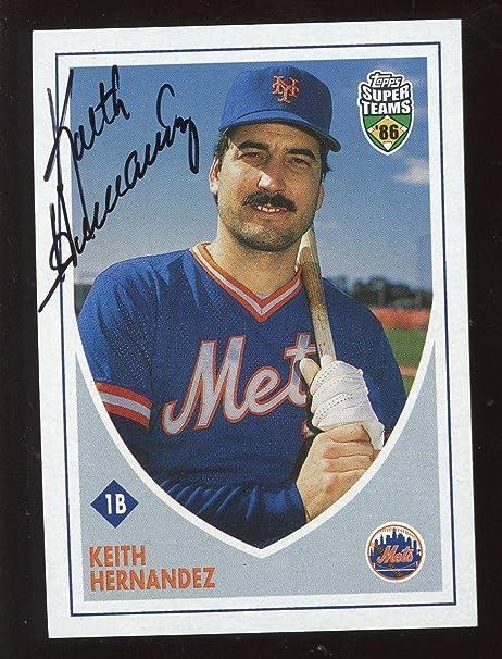 2002 Topps Super Team Baseball Card Keith Hernandez