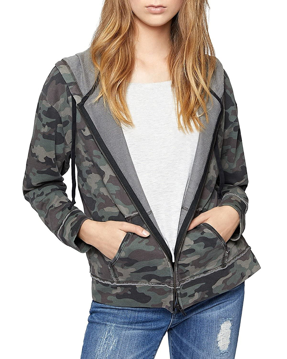 37ff250b2 70%OFF Sanctuary Womens Peace Trooper Hoodie Sweatshirt