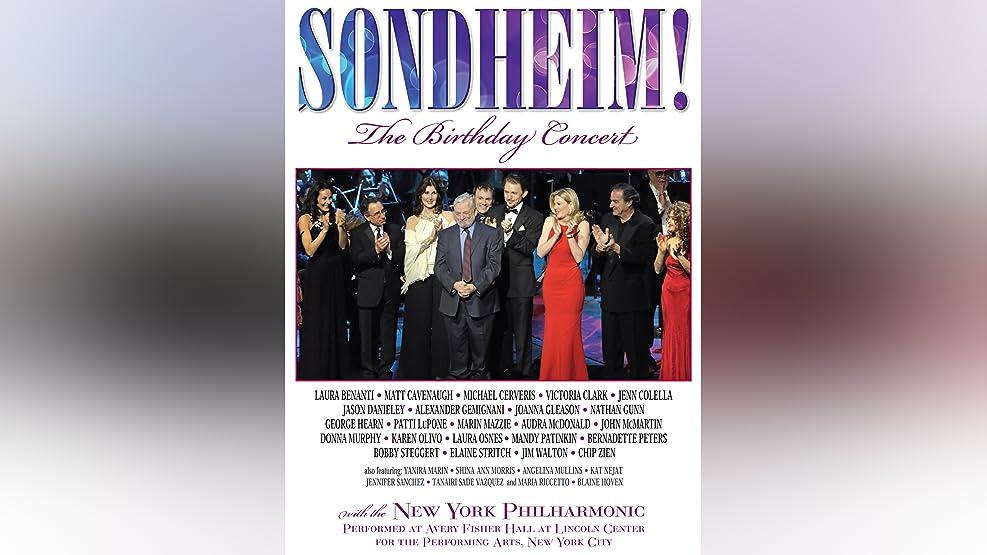 Sondheim: The Birthday Concert